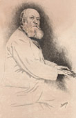 Portrait of Charles Gounod (1818-1893) - French Composer