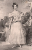 Portrait of Princess Clémentine of Orléans (1819-1890)