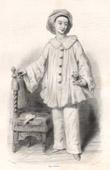 Portrait of Paul Legrand (1816-1898) - Actor as Pierrot