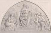 Angels - Madonna and Child - Adoration of Angels - Sculpture (Joseph Felon)