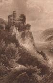Castle of Rheinstein - Burg Rheinstein (Germany)