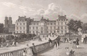 View of Paris - Luxembourg Palace - Palais du Luxembourg