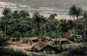 Landscape of Congo - Central Africa - Quissama