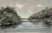 Ansicht von Río Pilcomayo (Südamerika)