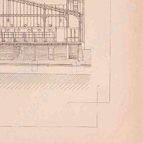 gravures anciennes dessin d 39 architecte b ziers. Black Bedroom Furniture Sets. Home Design Ideas