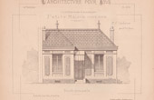 Drawing of Architect - Petite Maison Ouvri�re (Mr J. Cacheux)