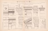 Drawing of Architect - House - Coffeehouse - Petite Maison d'Habitation avec Salle pour Caf� (Mr Clair Architecte)