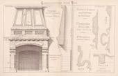Drawing of Architect - Nogent-sur-Marne - Hearth - Propriété de Mr Lepault (Mr Mussigmann Architecte)
