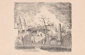 View of Paris Rive gauche - Gobelins Public Garden - Gobelins Manufactory - Croulebarbe