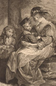 Fl�misch Malerei - Rubens Familie (Rubens)