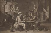 Fl�misch Malerei - Denial of Saint Peter (David Teniers le Jeune)