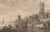 Dutch painting - View of Flanders (Jan Van Goyen)
