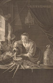 Dutch painting - Dutch - Kitchen (Gerrit Dou)