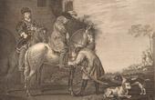 Dutch painting - Horse - Rider - Walk (Albert Cuyp)
