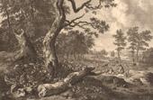 Dutch painting - Landscape - Way (Jan Wijnants)