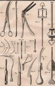 Médecine - Chirurgie - 1779 - Scalpel - Bistouri - Tire-balles - Ciseaux