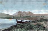 View of Lake Van - Tadwan Bay - Nimrud  Mount (Turkey)