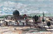 View of Jerusalem (Near East) - Mosque of Umar