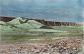 Vista do Saara - Oued Igharghar