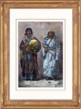 Tracht - Araber von Bagdad (Irak)