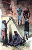 Peoples of Tripolitania - Tripoli (Libya) - Arab - Chillouk - Slave