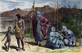 Kost�m - Sahara - W�ste von Libyen - Tibbou - Krieger