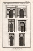 Architecture - 1779 - Classical Order - Door - Doric Order - Ionic order - Corinthian Order - Tuscan Order - Composite Order