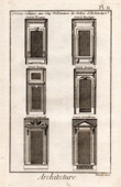 Architecture - 1779 - Classical Order - Window - Doric Order - Ionic order - Corinthian Order - Tuscan Order - Composite Order