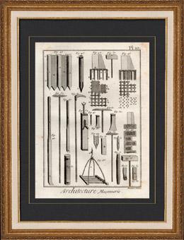 Architektur - 1779 - Mauerwerk