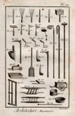 Etsning av Arkitektur - 1779 - Murverk