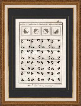 Architektur - 1779 - Fliesenleger - Fliesen