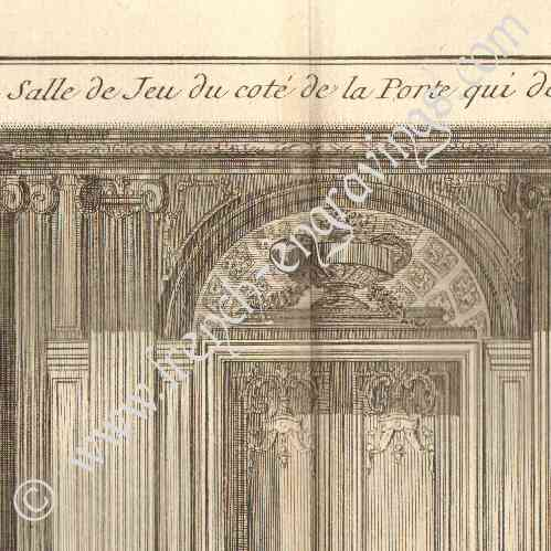 antique prints architecture 1779 architect 39 s drawing. Black Bedroom Furniture Sets. Home Design Ideas