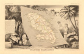 Map of France - 1850 - Martinique