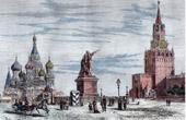 Moscow - Red Square - Saint Basil's Cathedral - Resurrection Gate (Russia)
