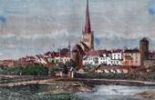 Ansicht von Reval - Tallinn - Ostsee - Baltisches Meer (Estland)