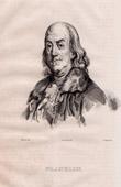 Portrait of Benjamin Franklin (1706-1790)