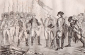 Surrender of Cornwallis - Battle of Yorktown - American War of Independence (United States of America)
