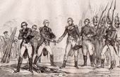 Surrender of Burgoyne in Saratoga - American War of Independence (United States of America)