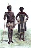 Cafres Man and Woman (South Africa)