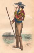 Spanish Traditional Costume - Picador - Corrida (Spain)