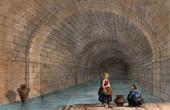 View - Roman Bathroom in Cintra (Portugal)