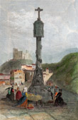 View of Porto de Mós (Portugal)
