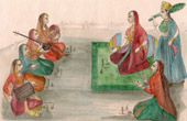 Scene of the everyday life - Concert for a princess (India)