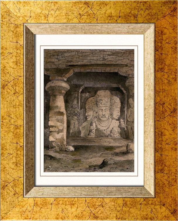 elephanta caves paintings - photo #45