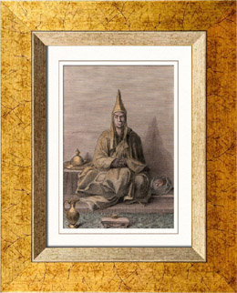 Monk - Lama of the Tartares and Mongols (Tartary)