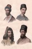 Traditionelle Kleidung - Kirgisen - Usbeken - Turkmenen - Tadschiken - Zentralasien (Tatarei)