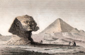 Ancient Egypt - The Great Sphinx of Giza - Great Pyramid of Giza - Pyramid of Cheops (Egypt)