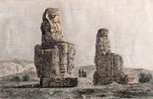Ancient Egypt - Egyptology - Necropolis - The Colossi of Memnon (Egypt)