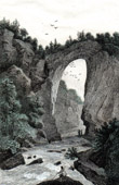 Natural Bridge in Virginia (United States of America)