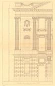 Architect's Drawing - France - Paris - Pavillon Place de la Concorde